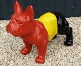 Franse bulldog H 30 cm L 30 cm 32 €