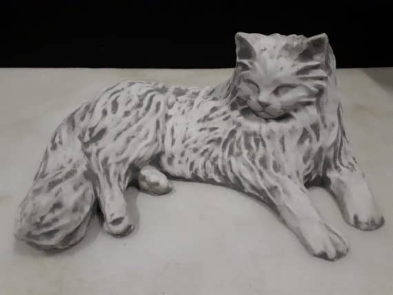 Z18 perzische kat liggend