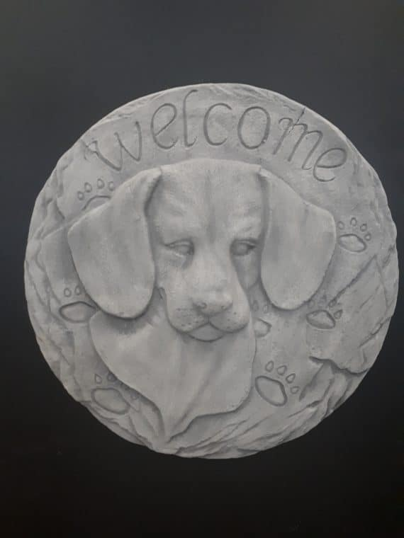 397 welkom hond hanger