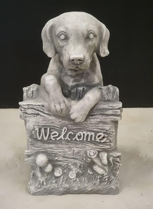 H1236 welkom hond