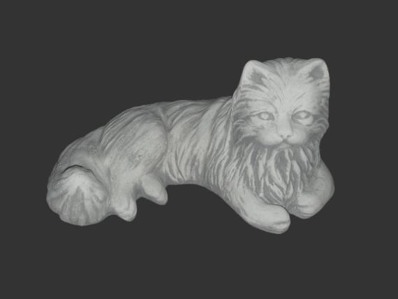 H1113 siamese kat liggend 22 cm