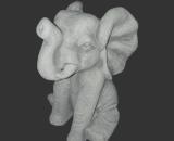 H1219 olifant zittend 30 cm