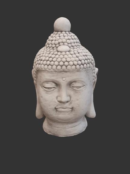 H867 boeddha kop 51 cm
