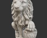 H956 leeuw kijkt links 54 cm