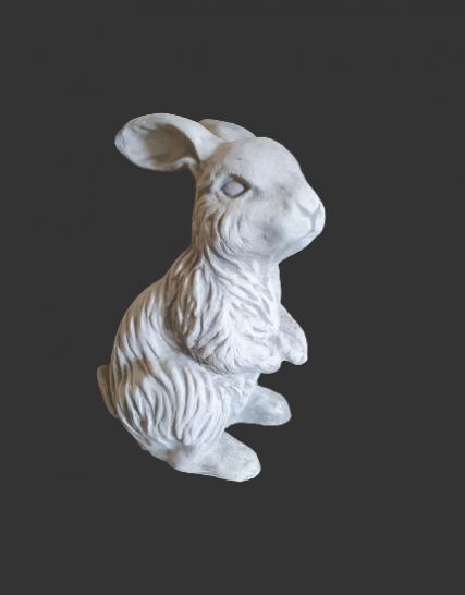 Z64 konijn rechtzittend 30 cm
